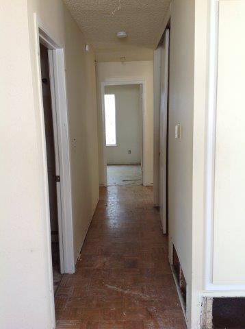 Hallway Penticton Before