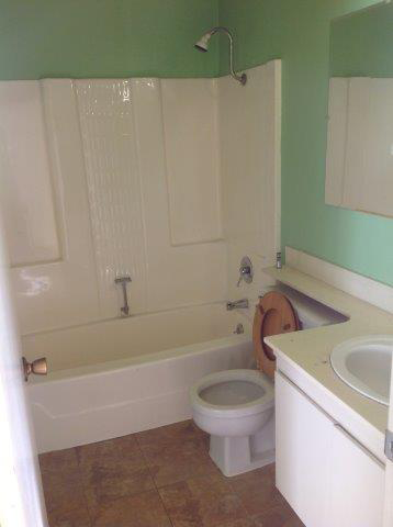 Osoyoos Guest Bath Before Remodel