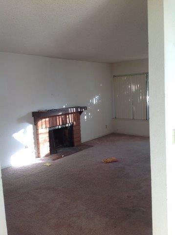 Osoyoos Living Room Before Remodel