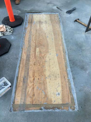 Deck Repair During