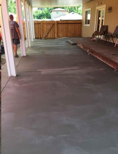 Concrete After